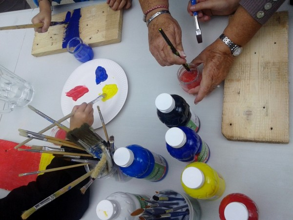 Goûter familial et atelier créatif